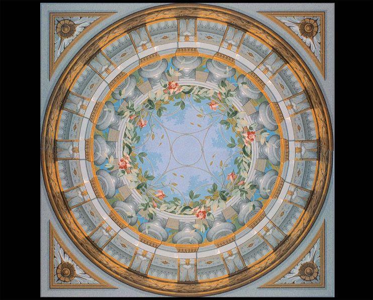 Plafond à Balustres variante 1