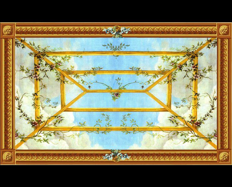 Plafond Treille