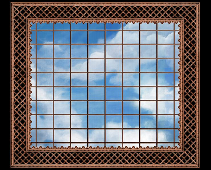Verriere II Ceiling with Sky background