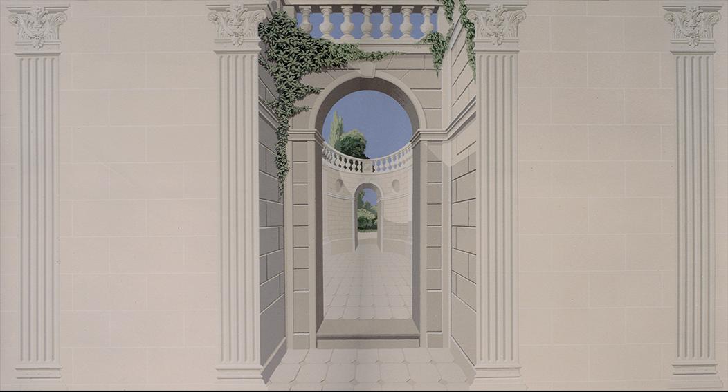 Atrium and Cut Stone