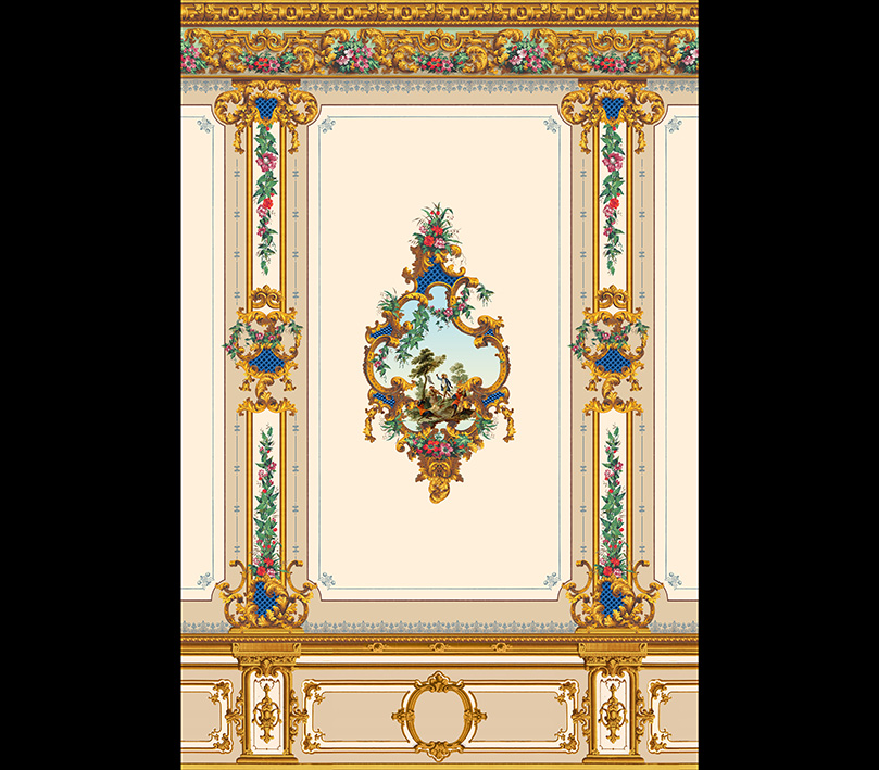 Décor Louis XV