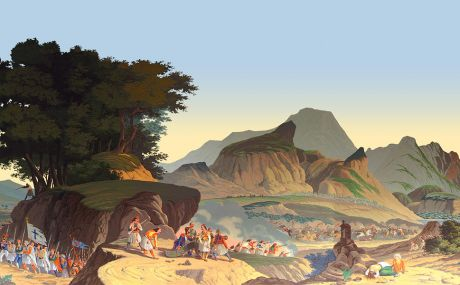 Combat des grecs (1828)