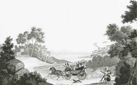 Les courses de chevaux: lengths 13 to 18