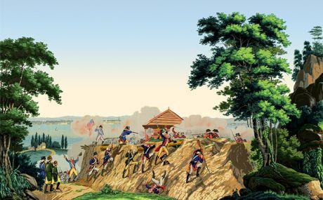 La guerre de l'indépendance américaine: lengths 1 to 7