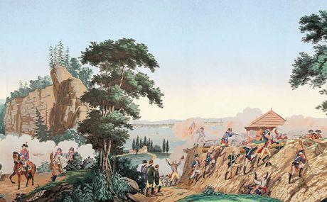 La Guerre de l'indépendance Américaine : lés 8 à 14