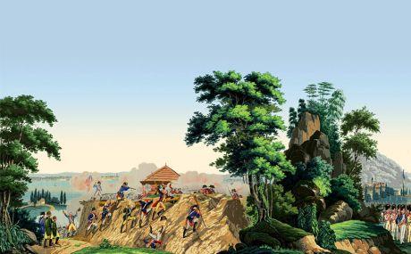 La guerre de l'indépendance américaine: complete scenery