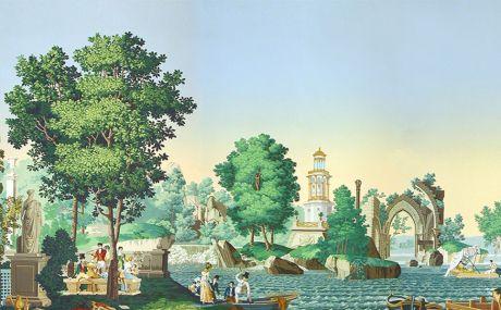 Les Jardins français (1821)