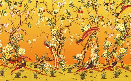 Dégradé Orange et jaune