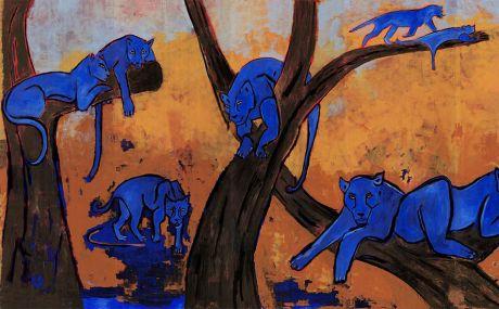 Orange et Bleu