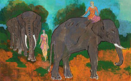 Les Eléphants (Valérie Morien)