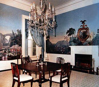 Décor panoramique '' La guerre de l'indépendance américaine ''
