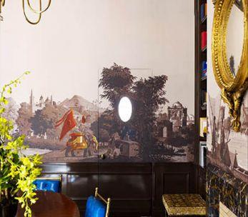 Décor panoramique '' L'Hindoustan ''