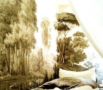 Décor panoramique '' Paysage Italien ''