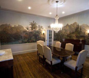 Scenic wallpaper '' Les zones terrestres ''