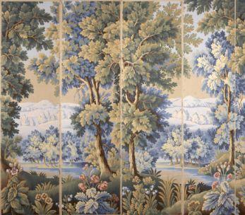Scenic wallpaper '' La forêt des Ardennes ''