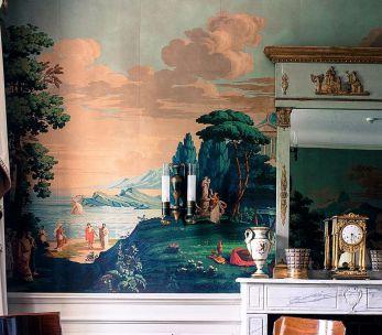 Scenic wallpaper '' La Grèce  ''