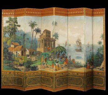 Décor panoramique '' Les vues du Brésil ''
