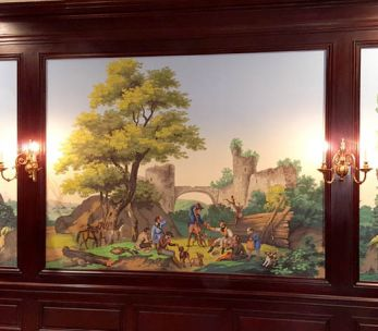 Décor panoramique '' Paysages à chasse ''