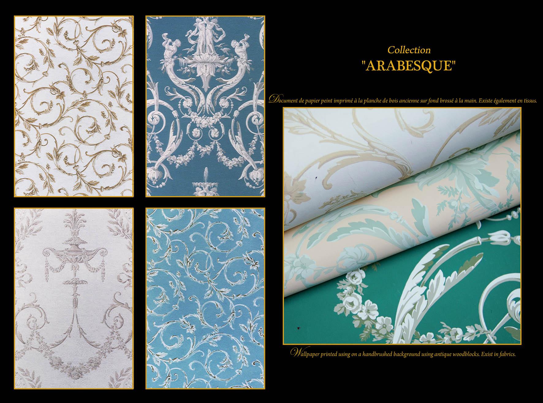 Arabesque I & II