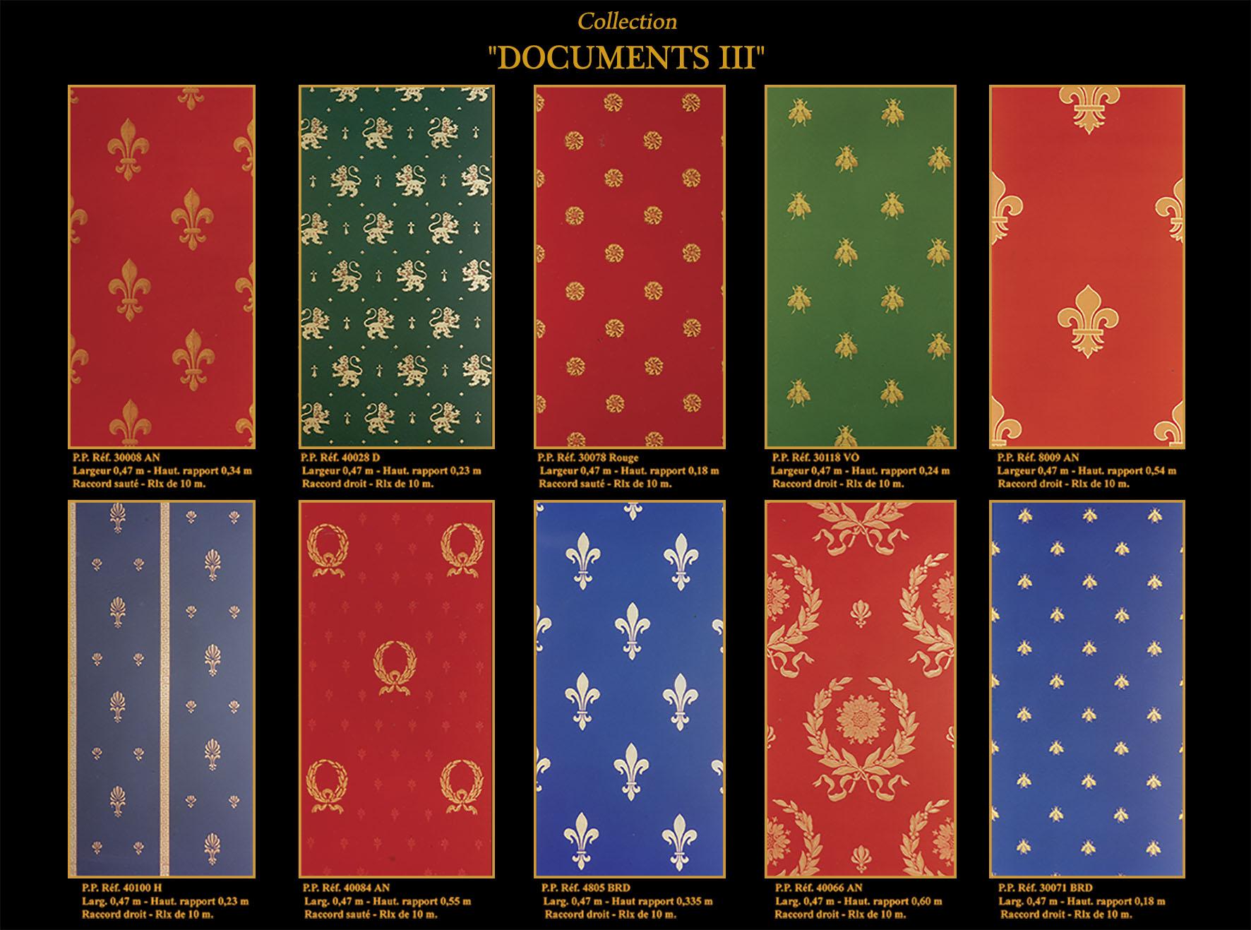 Documents III
