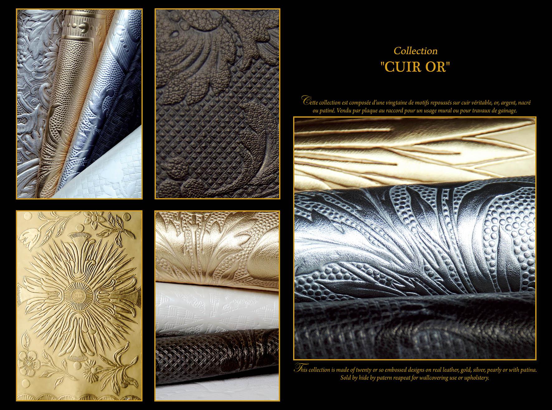 Cuir or